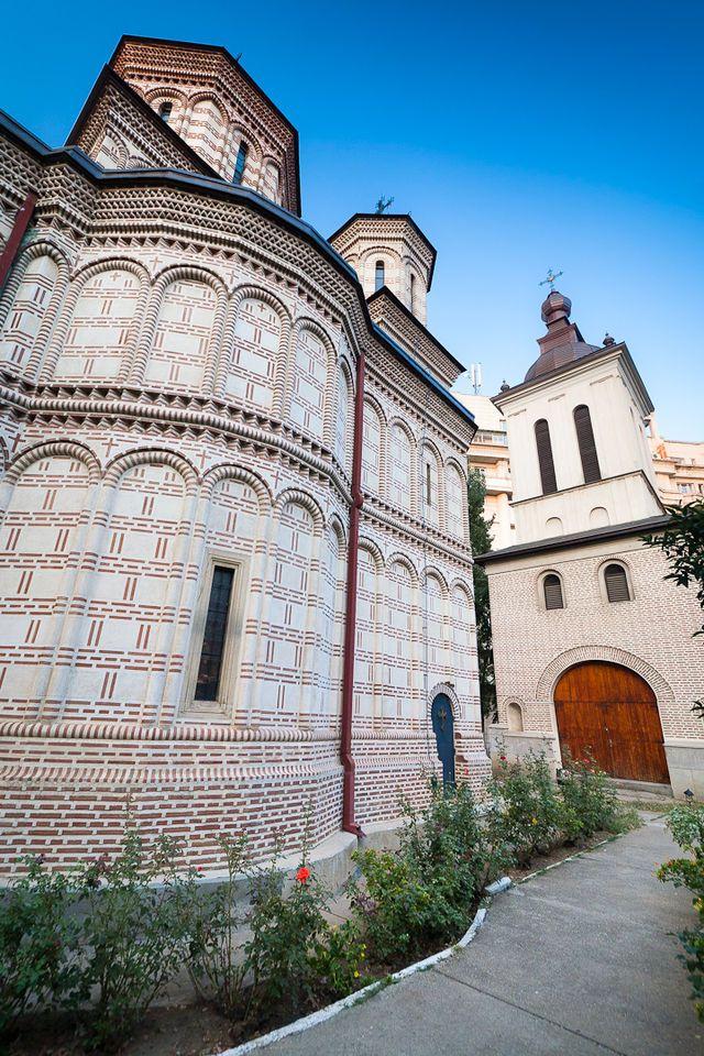 Mihai-Voda Monastery in Bucharest