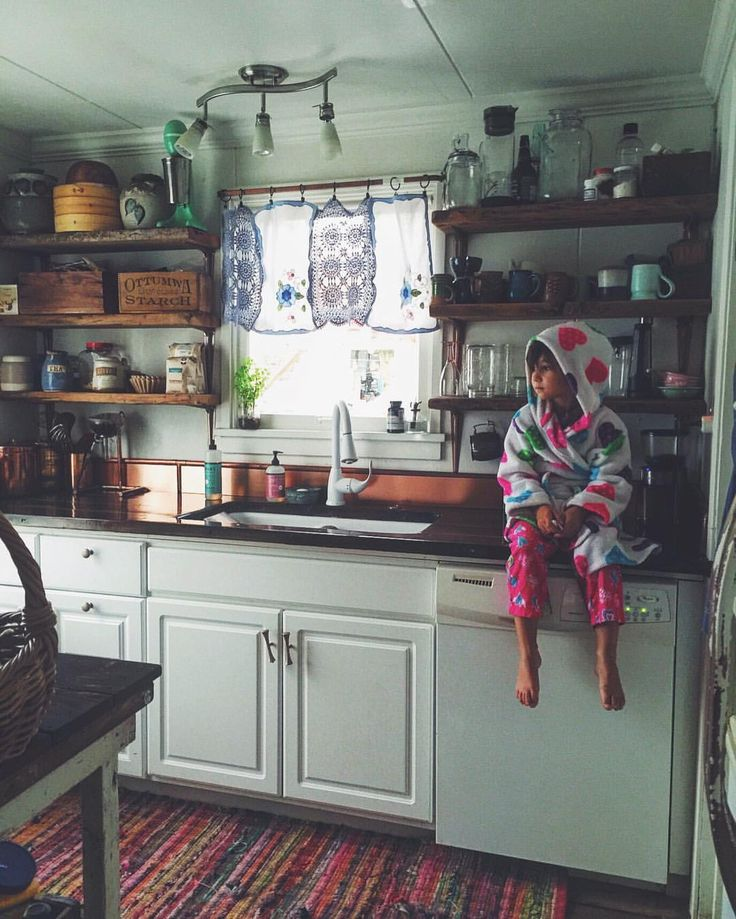Kitchen vibes. sleepingwillowfarm on Instagram