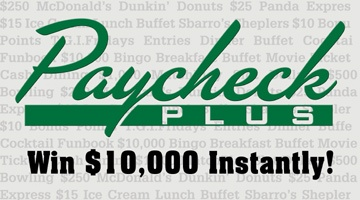 Paycheck Plus- Sam's Town Casino - www.localsgaming.com