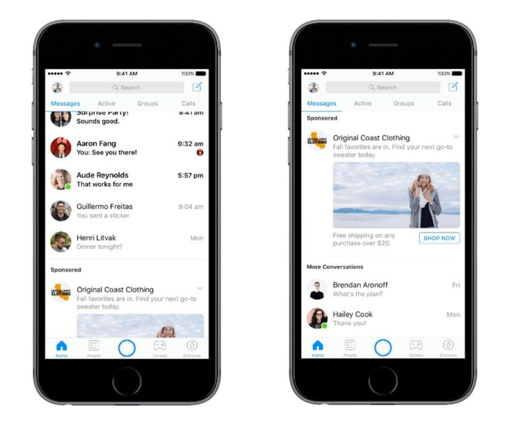 Sorry folks Facebook Messenger ads are rolling out globally