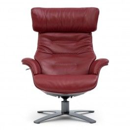 WESLEY: FAUTEUIL INCLINABLE EN CUIR/ LEATHER RECLINER CHAIR