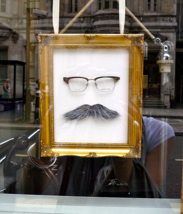 Movember window display