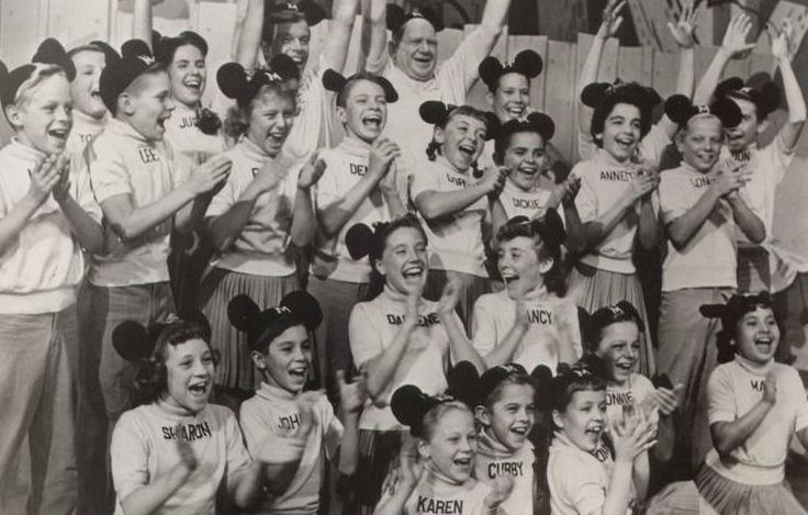 Original gang from the 50's Mickey Mouse club