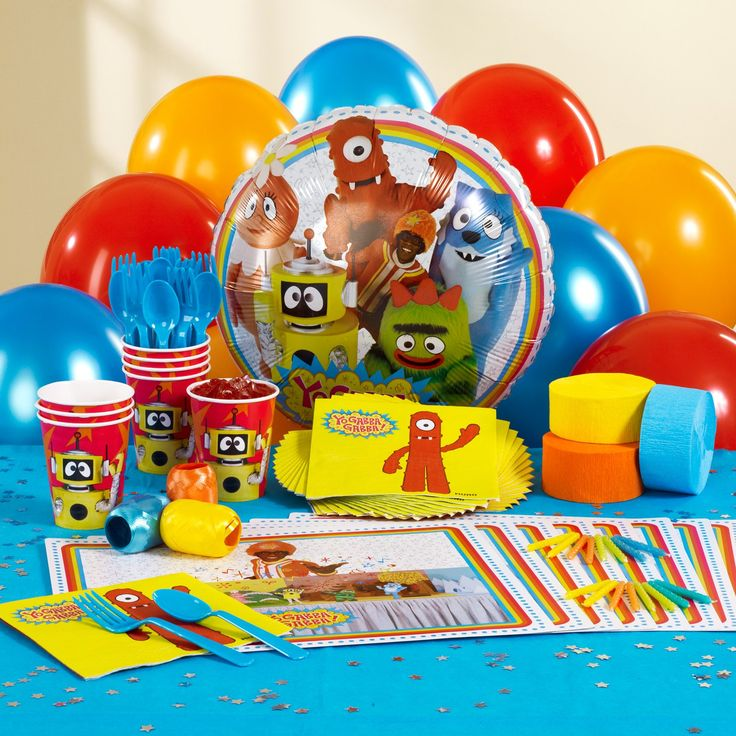 131 best yo gabba gabba birthday party images on pinterest | yo, Wedding invitations