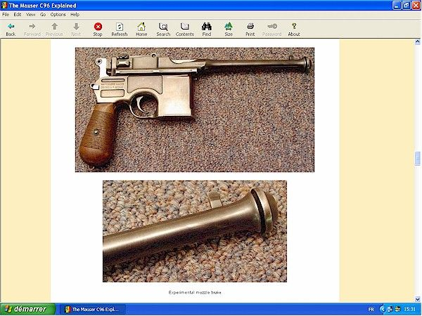 Mauser C96 explained - downloadable at HLebooks.com