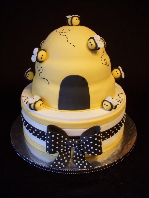 @KatieSheaDesign ❤ #Cakes ❤♥ ❥ Beehive Baby Shower Cake