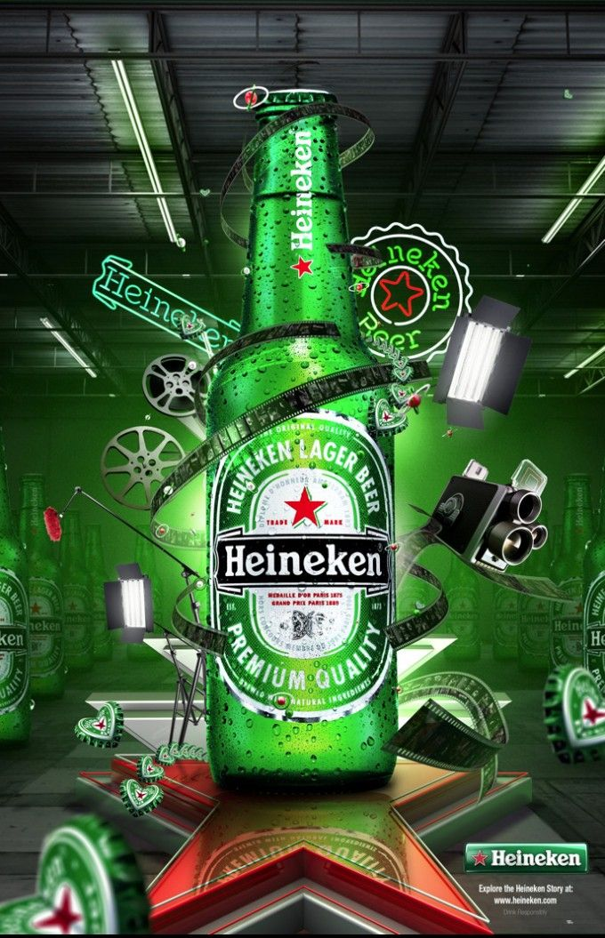 Mike Tello: Heineken: AngelsignStudio.com