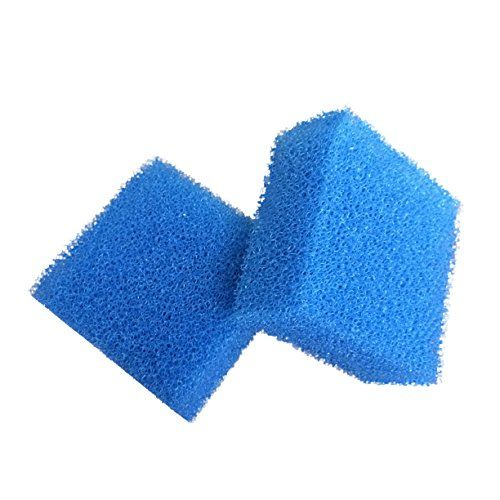 From 5.59 Finest-filters Pack Of 2 Compatible Coarse / Course Foam Filter Pads To Fit Juwel Compact Filters