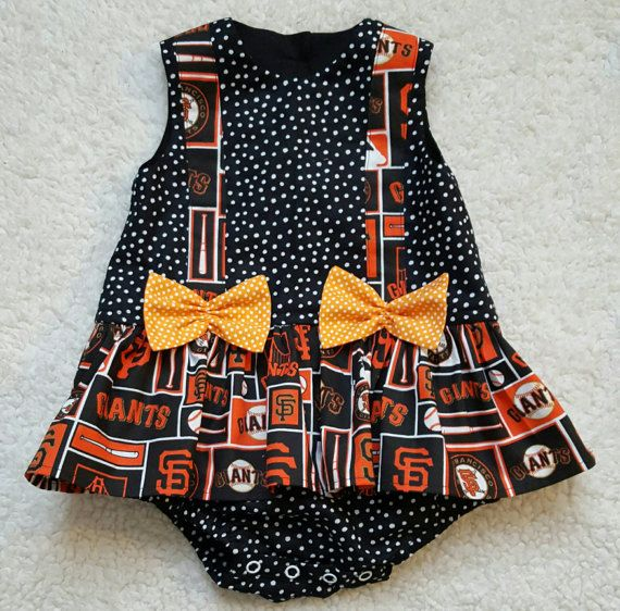 Check out this item in my Etsy shop https://www.etsy.com/listing/514783053/baby-girl-rompersan-francisco-giants