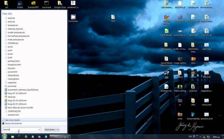Αναζήτηση & εύρεση αρχείων σε Windows 7 αμέσως
