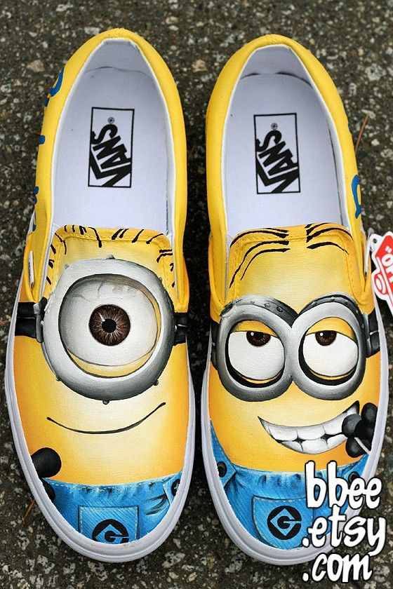 Minion Shoes!!!!!!