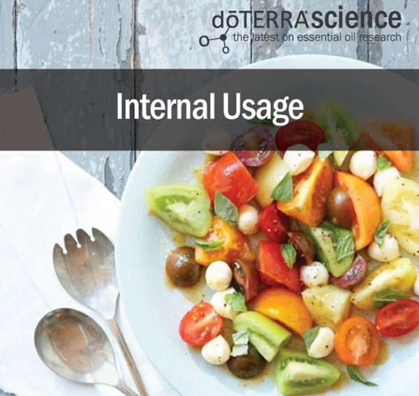 Years of past and ongoing research have found that internal usage is a safe and profoundly efficacious application method.  When you sprinkle cinnamon on your oatmeal, sip a mug of peppermint tea, or add fresh oregano to your pasta sauce, you are actually consuming small amounts of the volatile comp
