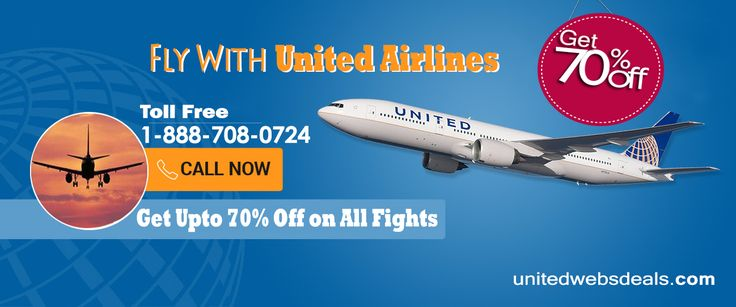 Get cheap United Airlines flights. Book airline ticket and make your United Airlines reservations on Unitedwebsdeals.Call Now-1-866-883-5430!!