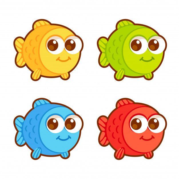 Conjunto De Peces De Dibujos Animados Li Premium Vector Freepik Vector Peces De Colores Dibujos Imagenes Infantiles De Animales Peces Dibujos Animados