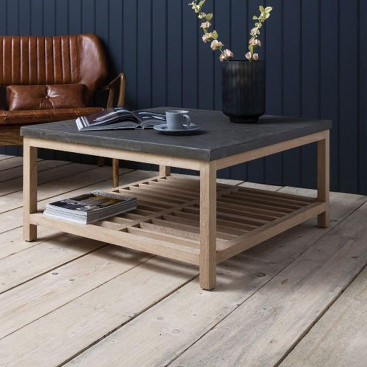 Hudson Living Brooklyn Coffee Table - Interior