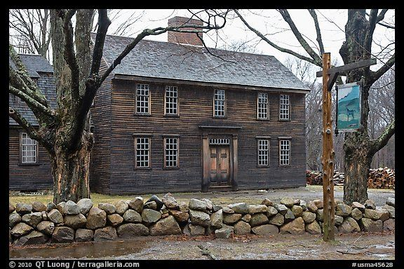 Hartwell Tavern, Lincoln, Minute Man National Historical Park. Massachussets, USA