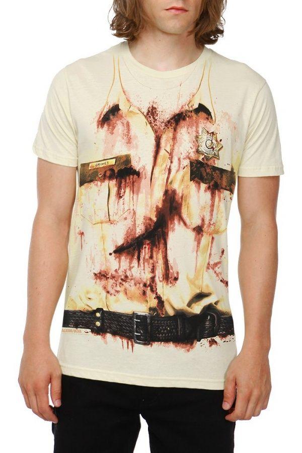 Walking Dead Rick Grimes Costume Tee