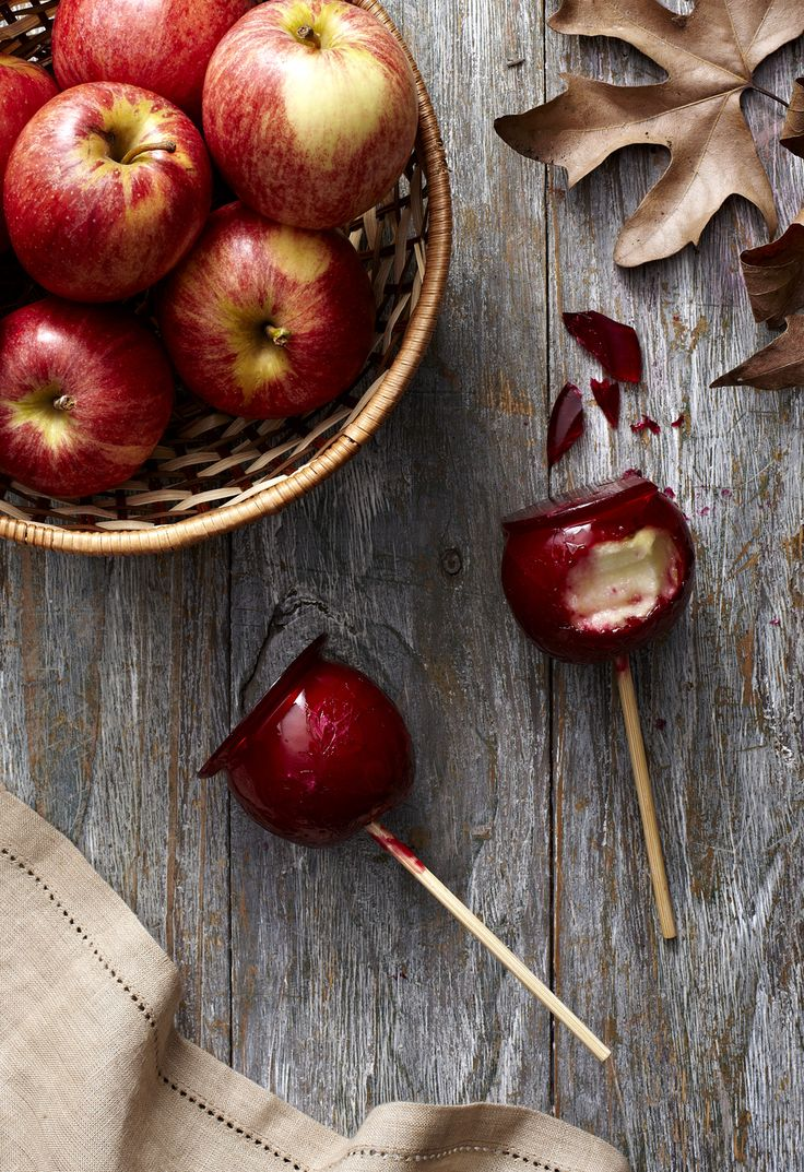 Autumn Food Styling, love a good toffee apple! Photographer: Adam Shaw Styling: Tara Ramsay http://lifestyleandlala.blogspot.com.au/