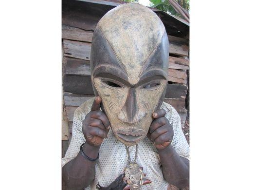 Afrykańska maska Boa Mask Boa http://www.etnobazar.pl/shop/stanley?limit=128