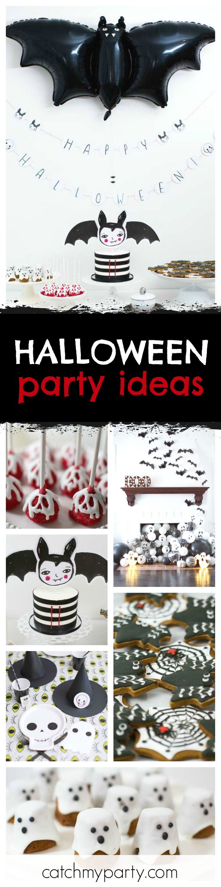 Wow absolutely love this halloween party the balloon decorations are awesome and the cake