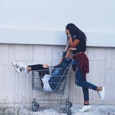 Resultado de imagen para mejores amigas supermercado tumblr