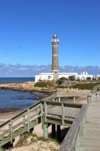 Faro or Lighthouse at Punta Jose Ignacio Uruguay
