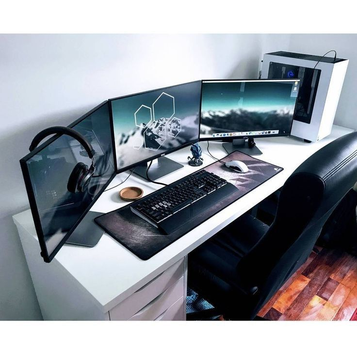 pin by revorta on pc setup in 2019 computer desk setup gaming rh pinterest com