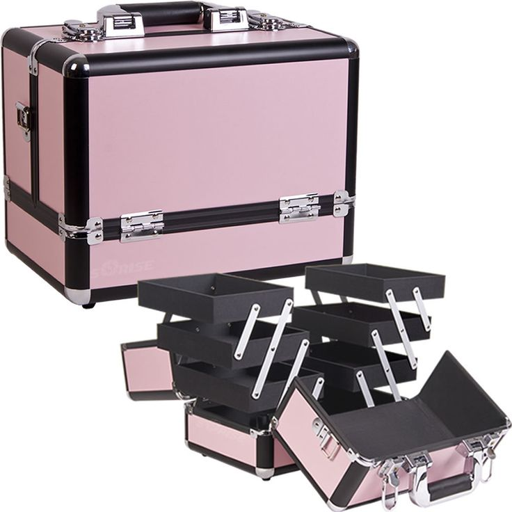 Pink Cosmetic Case - C3002 - salonhive.com