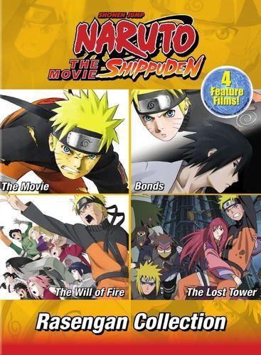 Naruto Shippuden the Movies: Rasengan Movie Collection [DVD]