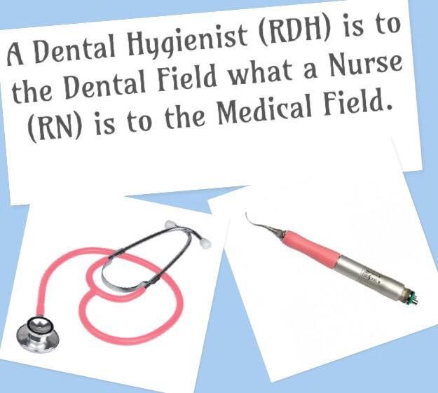 """""""Registered nurses and dental hygienists have equally important yet different roles in the health care industry.  Dental hygienists work with dentists and dental assistants as they clean and examine patients' teeth and mouth. Some also work in research facilities. Nurses work in a greater variety of health care settings, from doctor's offices to psychiatric facilities to patients' homes. The degree an individual earns in one of these fields helps dictate the level of professional…"""
