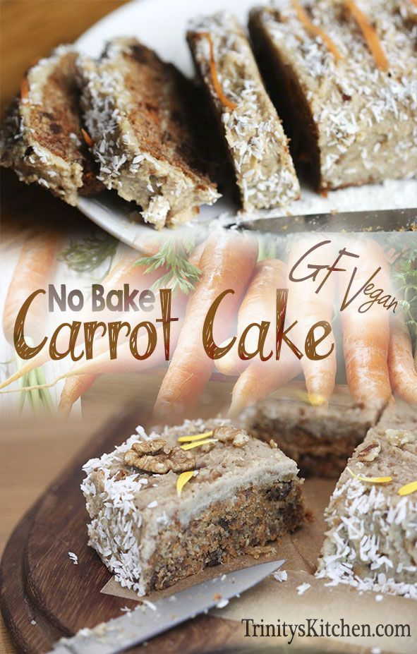 An absolutely delicious no-bake, raw carrot cake recipe from 'way back when'. 19g net carbs, 268 cal, 7.4g protein per serving