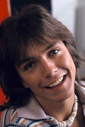 David Cassidy & his puka shell necklace
