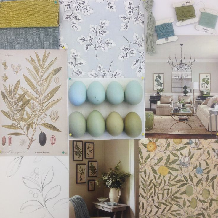Moodboard for our Gosford Collection #warwickfabrics #moodboard