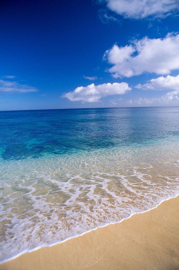 Azure Ocean Photograph by Peter French - Printscapes - Azure Ocean Fine Art Prints and Posters for Sale