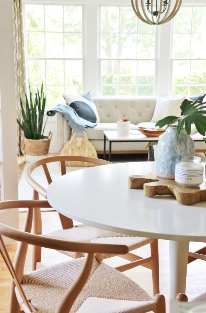 summer colors tour simple ways to style your home for the season rh pinterest com