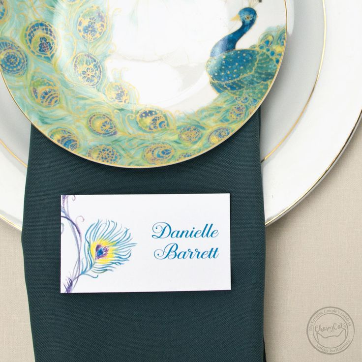 wedding invitations peacock theme%0A Keep your day of stationery super classy with these peacock pieces  The  peacock design is