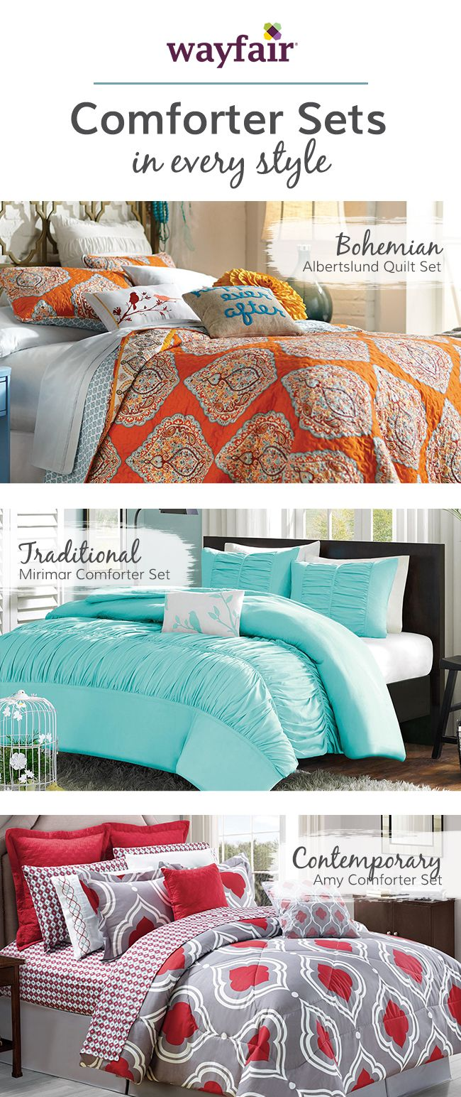 It's time your bedroom matches your style—without breaking the bank. Transform your bedroom into an elegant and chic space suited for a queen. From plush textured linens to curvy silhouettes, find all the essentials for designing a fancy bedroom. Visit Wayfair and sign up today to get access to exclusive deals everyday up to 70% off. Free shipping on all orders over $49.