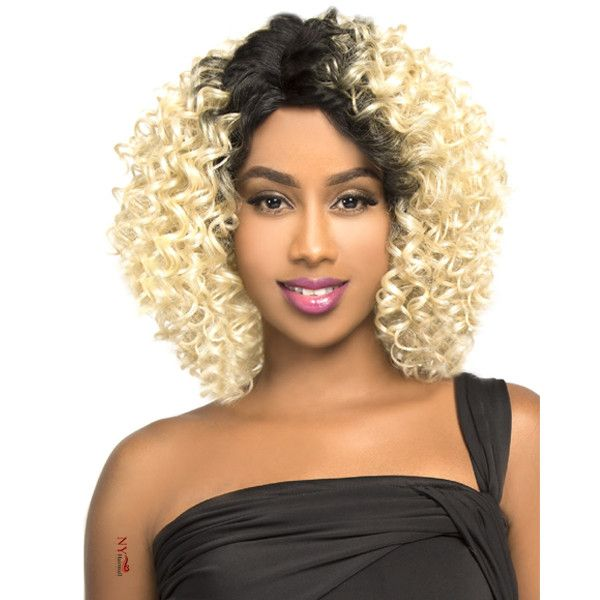 LH JERRY - THE WIG BRAZILIAN HUMAN HAIR BLEND INVISIBLE
