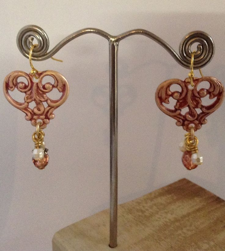 A personal favorite from my Etsy shop https://www.etsy.com/au/listing/251156022/vintage-filigree-drop-earrings
