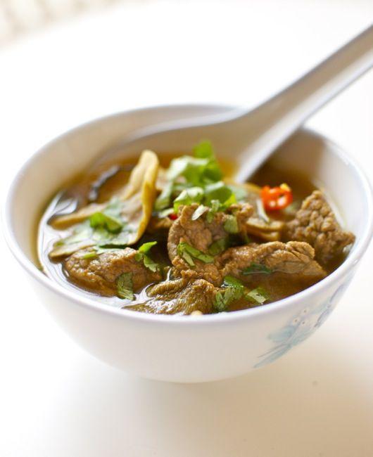 """brodo di manzo piccante, ricetta orientale con Bimby Bimby """"nel mondo"""