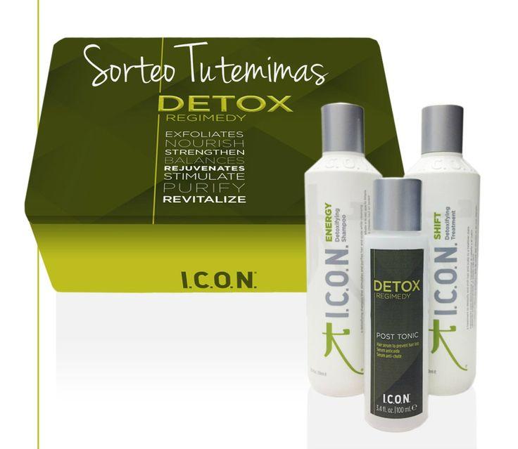 ¡¡¡Hola amiguitas!!! ¿Cómo lleváis el #sorteo (eo, eo)? ¿Habéis participado ya ? Todavía estáis a tiempo!!!  http://www.sorteamus.com/sorteo-pack-icon-detox En juego está nuestro Súper pack #DETOX, estrella de la temporada✨✨ ¿Conocéis ya todos sus #beneficios? -#Tratamiento #SHIFT: Un tratamiento previo al champú que #desintoxica el #cabello y el cuero cabelludo. #Activa la #microcirculación y limpia en profundidad las impurezas y el exceso de grasa.