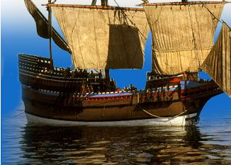 The First Thanksgiving: Voyage on the Mayflower...an interactive Scholastic website.  Take the journey on the Mayflower and tour the ship. Site also includes a teacher's guide, free printables, theater ideas, and a Thanksgiving vocabulary guide.