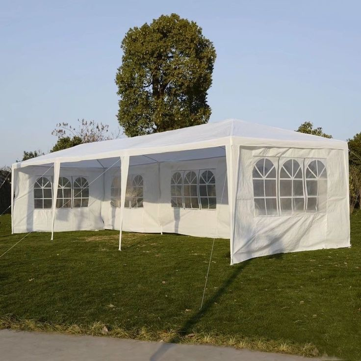 10'x30' Party Wedding Outdoor Patio Tent Canopy Gazebo Pavilion Event, #F311000963625
