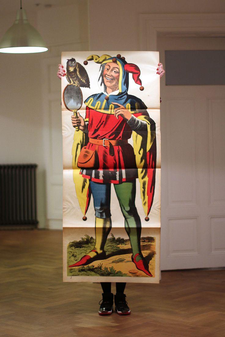 Joker - Lithographie Wentzel - Imagerie de Wissembourg - Fin 19ème siècle