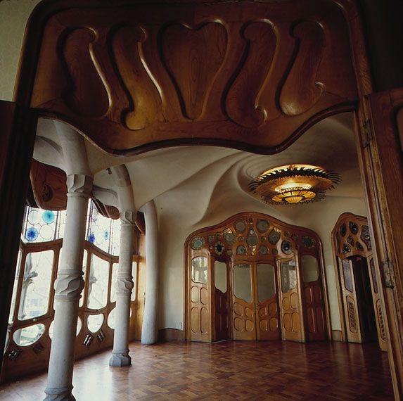 gaudi house interior -#main