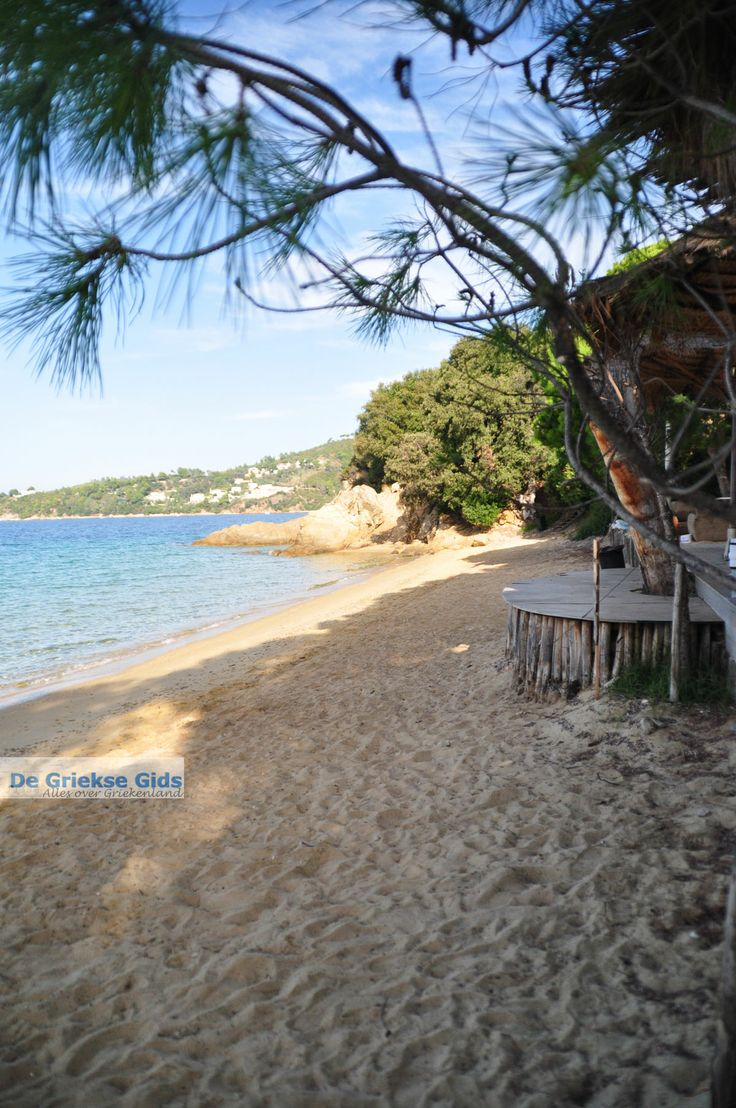 Vromolimnos beach   Skiathos,  Sporades