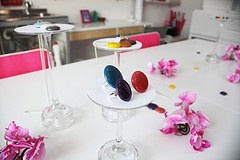 ikon collection - bold party rings -  boldcolorglass by panyizsuzsi