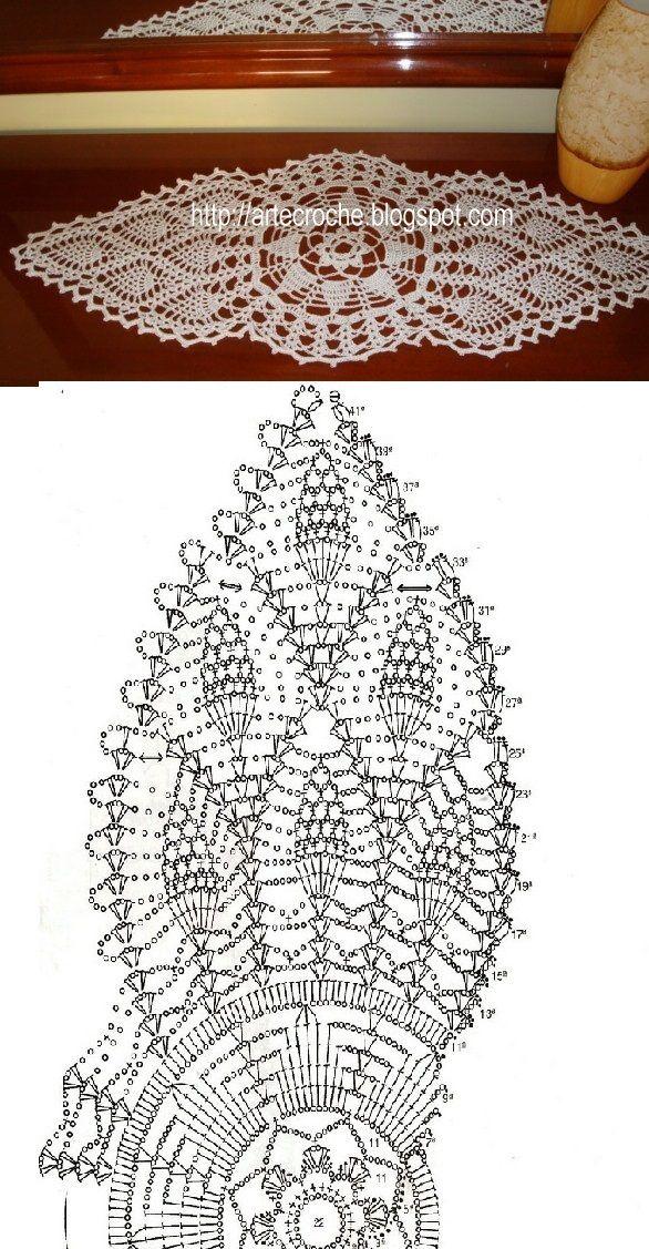 2596 besten Crochet Thread/Dolies Bilder auf Pinterest ...