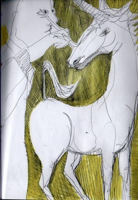 LUIS DESENHA: O pintor de Unicórneos
