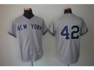 Mariano Rivera MLB New York Yankees #42 grey jersey